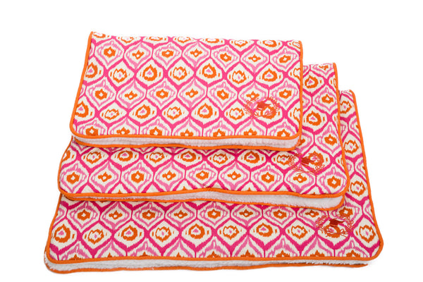 Canine Styles - Crate Mat - Moroccan Pink - Dog Bed