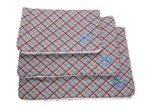 Canine Styles - Crate Mat - Milano Plaid - Dog Bed