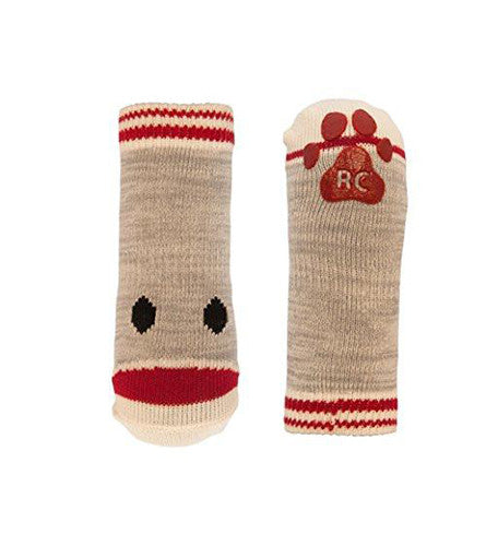 Anti-Slip - Sport Sock - Dog Sock - Sock Monkey