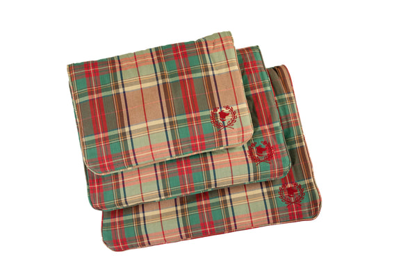 Canine Styles - Crate Mat - Ivy League Plaid