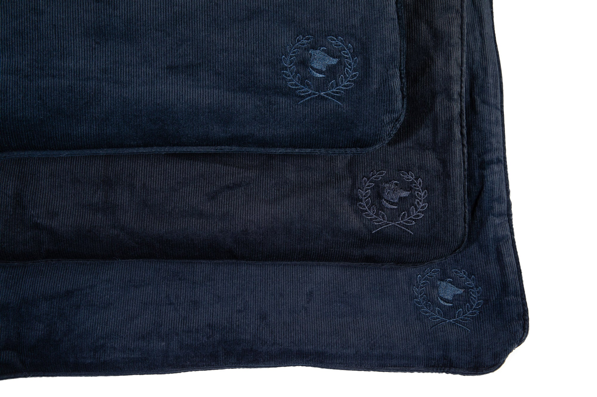 Canine Styles - Crate Mat - Corduroy Navy