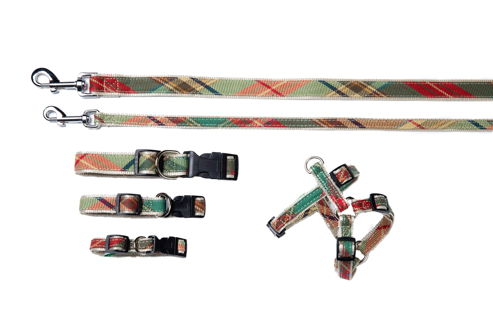 Plaid Signature Collection - Dog Collars, Harnesses & Leads - Ivy League Plaid