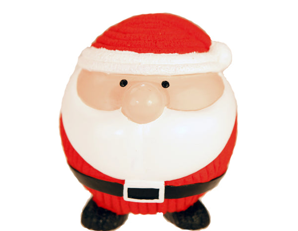 Holiday Latex Santa - Dog Toy