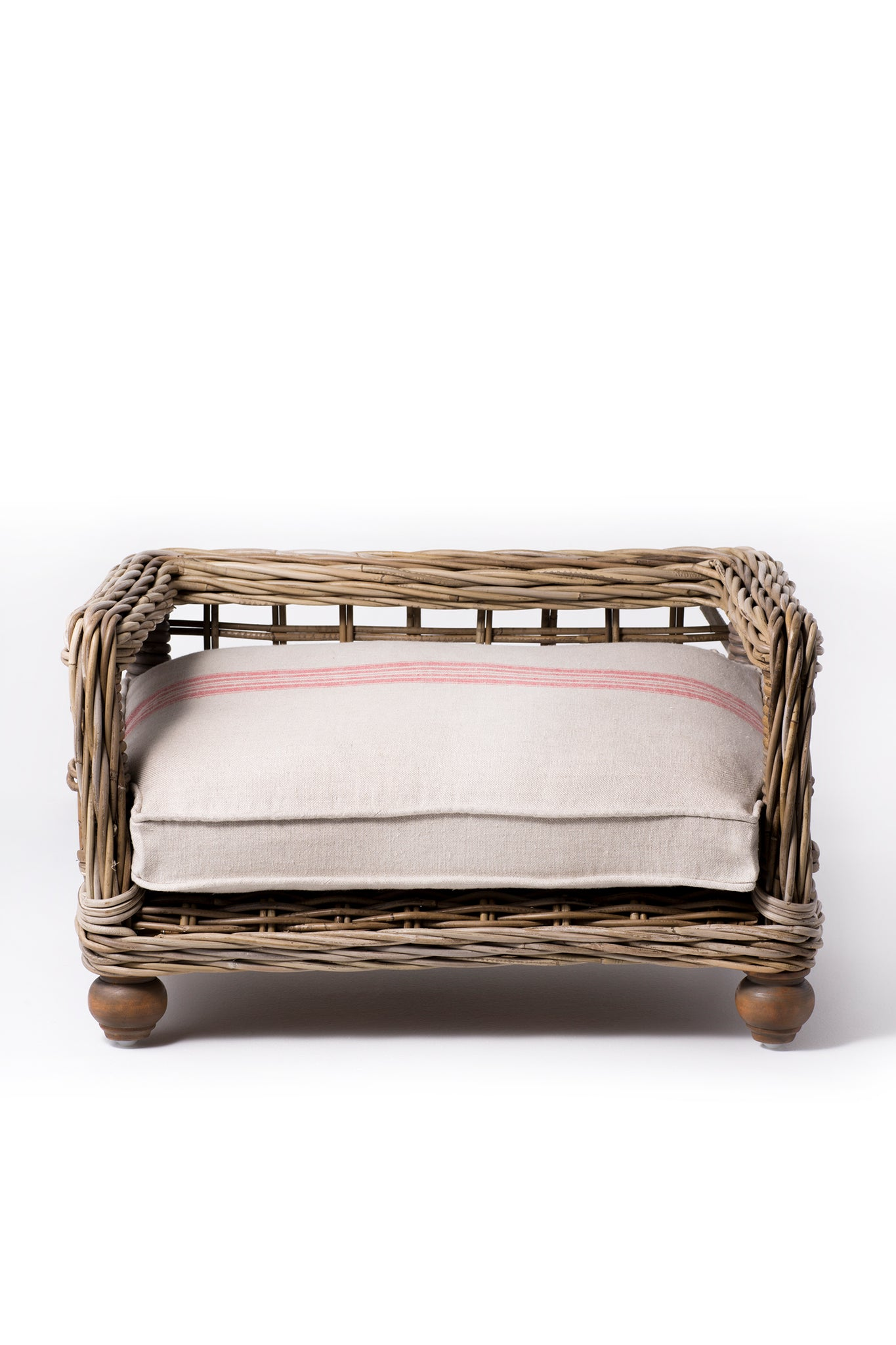Canine Styles Rattan Dog Bed