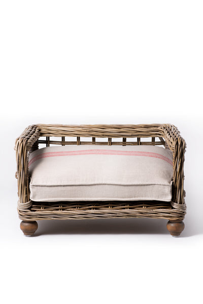 "Canine Styles Rattan Dog Bed ""3 Size Options"""