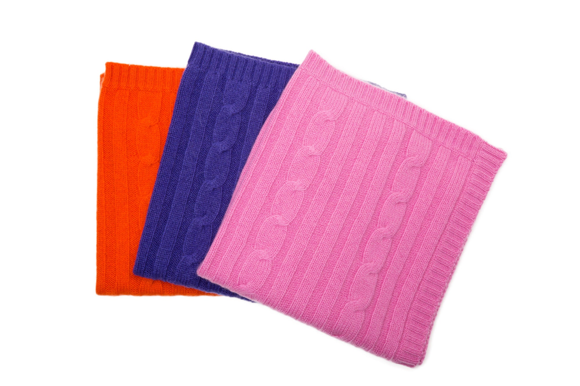 Cashmere Blanket - Orange, Purple, or Pink - Canine Styles - Dog Blanket - 3 Color Options