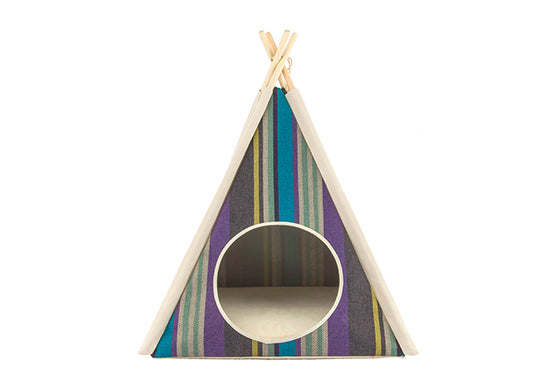 Canvas Dog Teepee - 4 Color Options