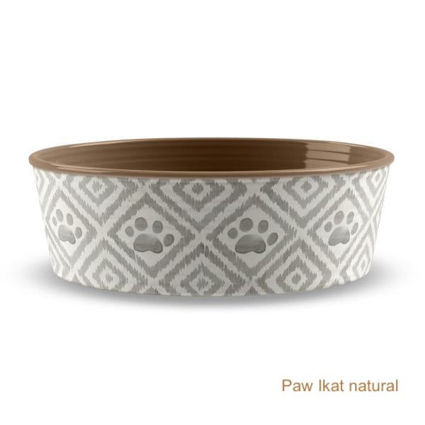 Dog Bowl - Melamine Pet Bowl - 2 Color Options