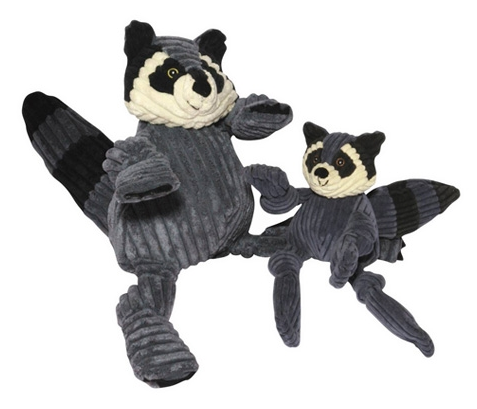 Knotties Raccoon Toy - Dog Toy - 2 Sizes
