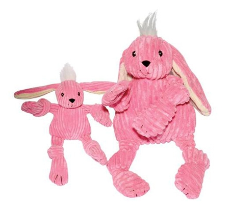 Knotties Pink Bunny Toy - Dog Toy - 2 Sizes