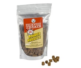 Peanut Butter - Wonder Nuggets - Vegetarian Treat - Dog Treat - USA