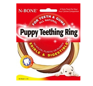 Puppy Teething Ring - Dog Treat - USA
