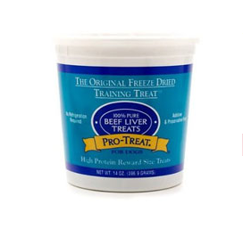 Pro-Treat - Freeze Dried - Dog Treat - Beef Liver - USA