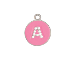 Crystal Opaque | Pastel Alphabets | Personalized | ID Tag | Dog Tag