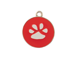 Paws | Opaque Pastel | Personalized | ID Tag | Dog Tag