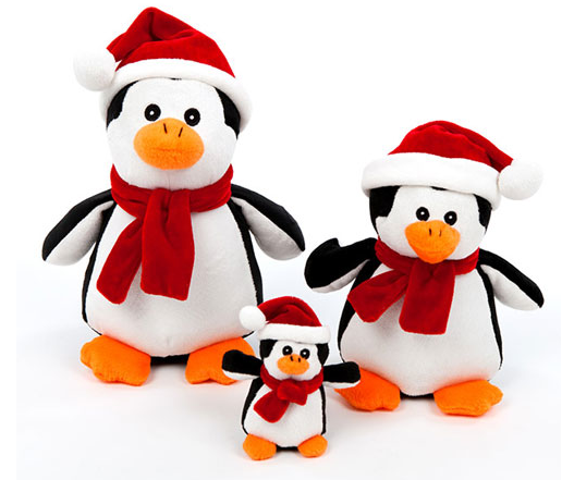 Holiday Toy |  Penguin Toy | Squeaker Toy | Dog Toy