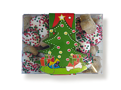 Holuday Treats - Holiday Cookie - Mini Bones