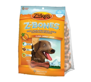 Mini Z Bone - Teeth Clean - Carrot Base - Dog Treat - Vegetarian Treat - USA