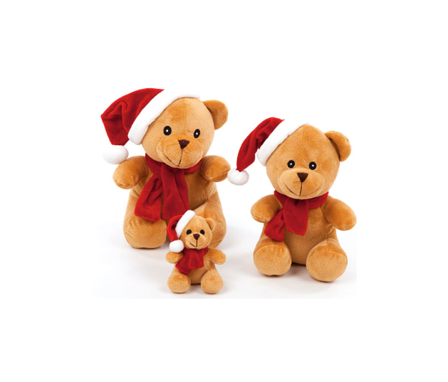 Holiday Toy - Holida Bear - Squeaker Toy