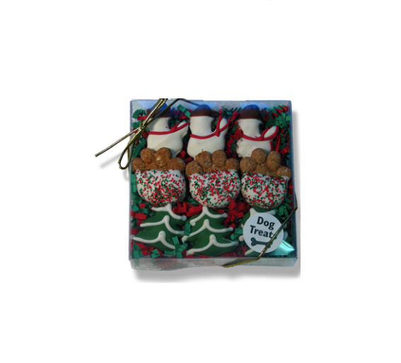 Dog Treat - Christmas Cookie - Holiday Treat