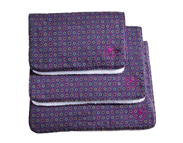 Canine Styles - Crate Mat - San Marco Purple