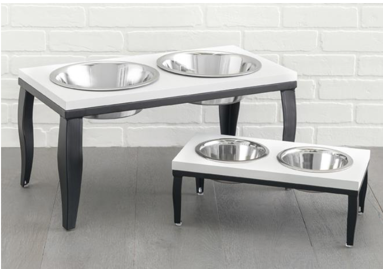 Noor Dog Diner - Dog Feeder - Dog Bowl
