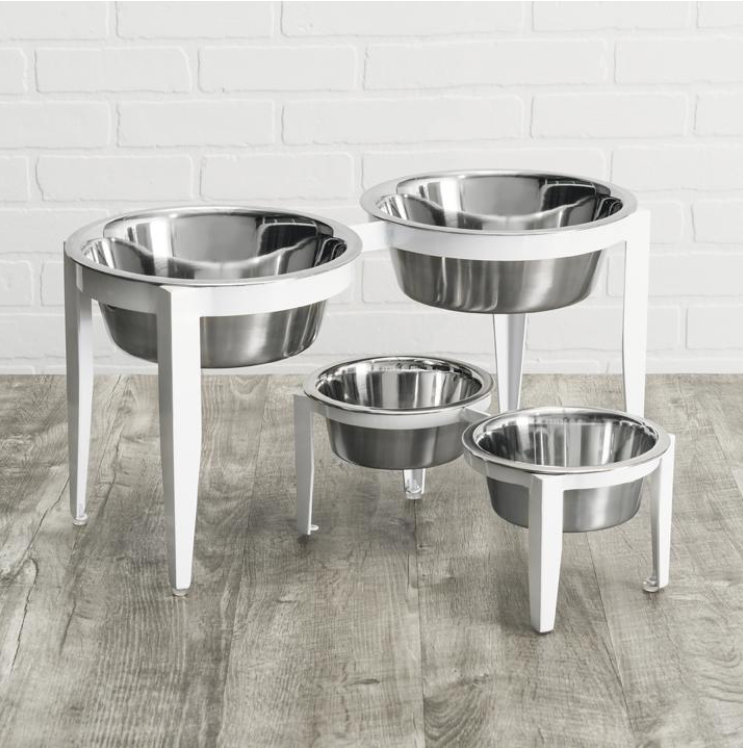 Double Diner Vision - Dog Feeder - Dog Bowl - 2 Color Options