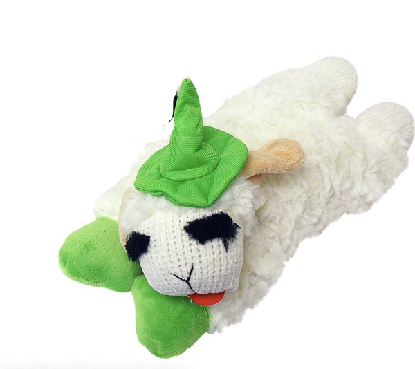Dog Toy - Halloween Lamb Chop Green or Orange Witch