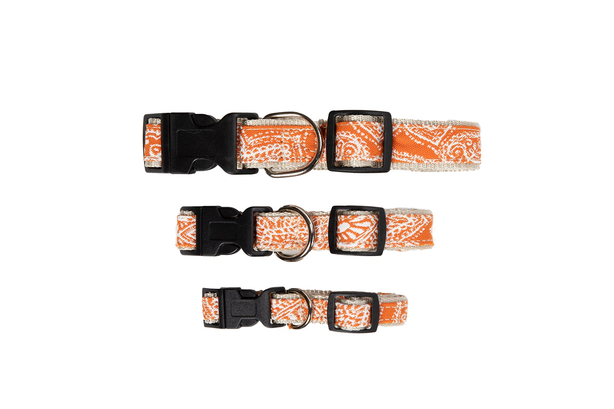 Signature Collection - Collar, Harness, & Lead - Curacao Orange