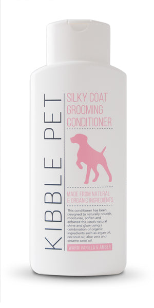 Vanilla and Amber  - Dog Conditioner - Silky Coat