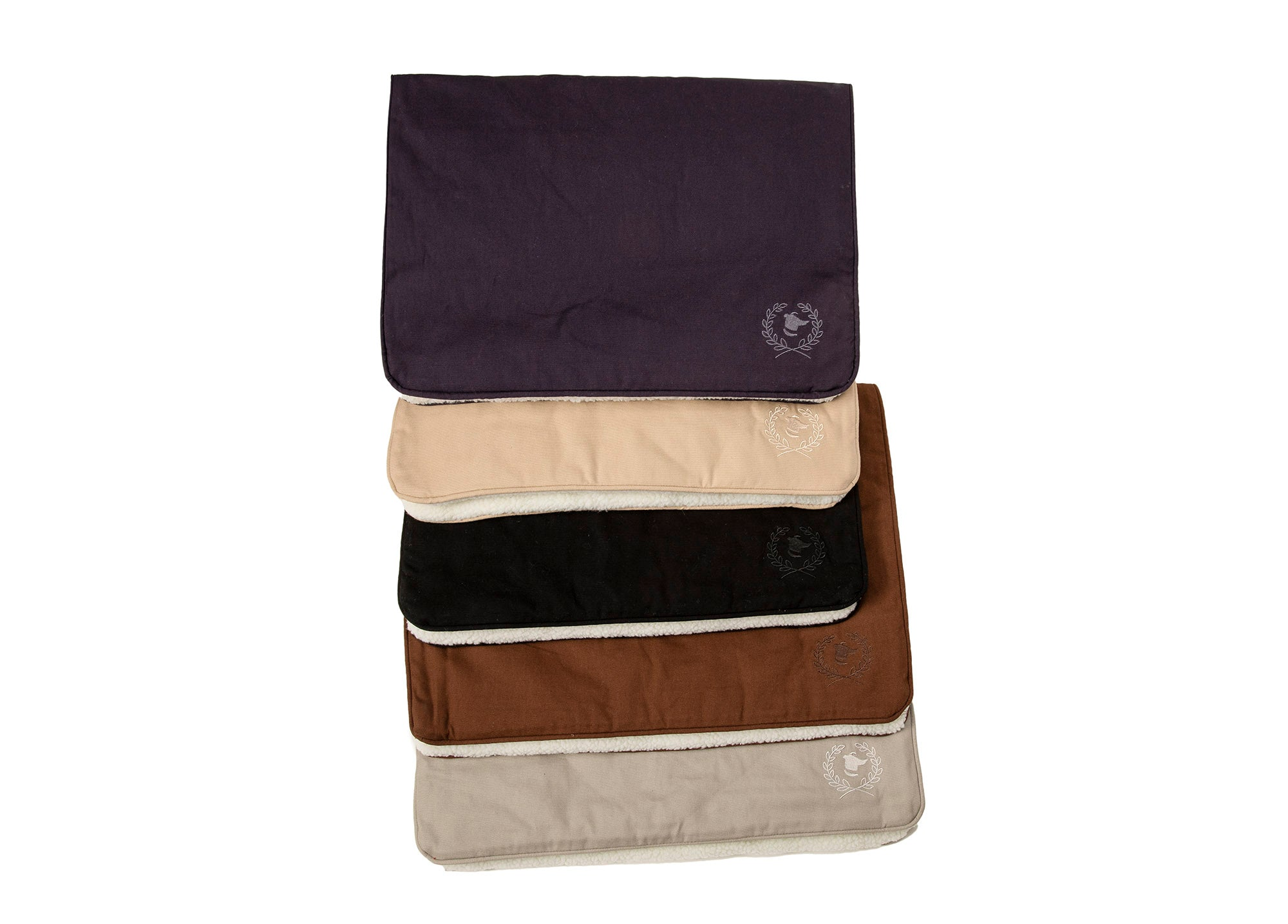 Canine Styles - Solid Monochromatic with self colored piping - Navy, Tan, Black, Brown & Gray