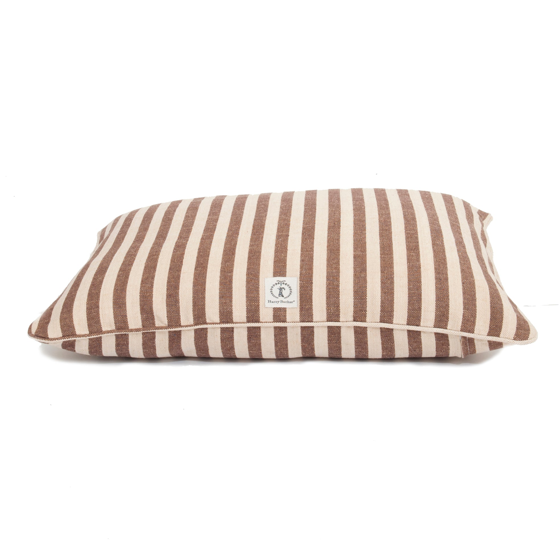 "Rectangle Hemp Replacement - ""COVER ONLY"" - Vintage Stripe - Dog Bed - 5 Color Options"