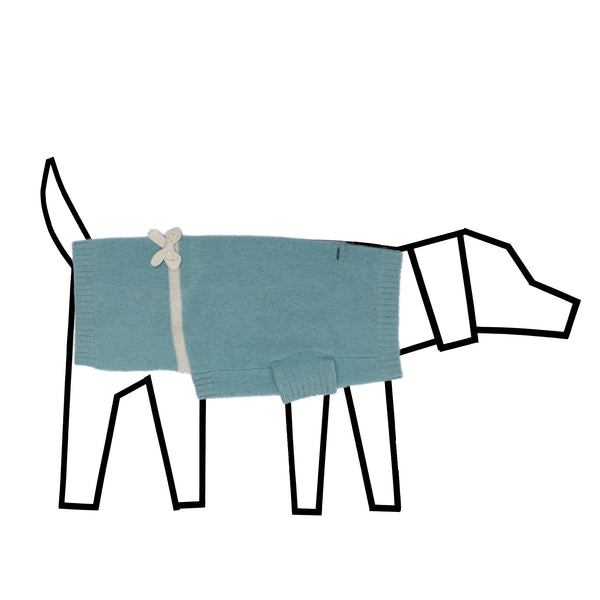 Sniffany Blue - Wool Dog Sweater