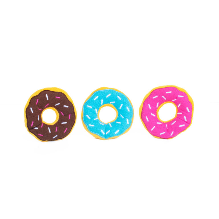 Mini - Sweet Donuts -  Dog Toy