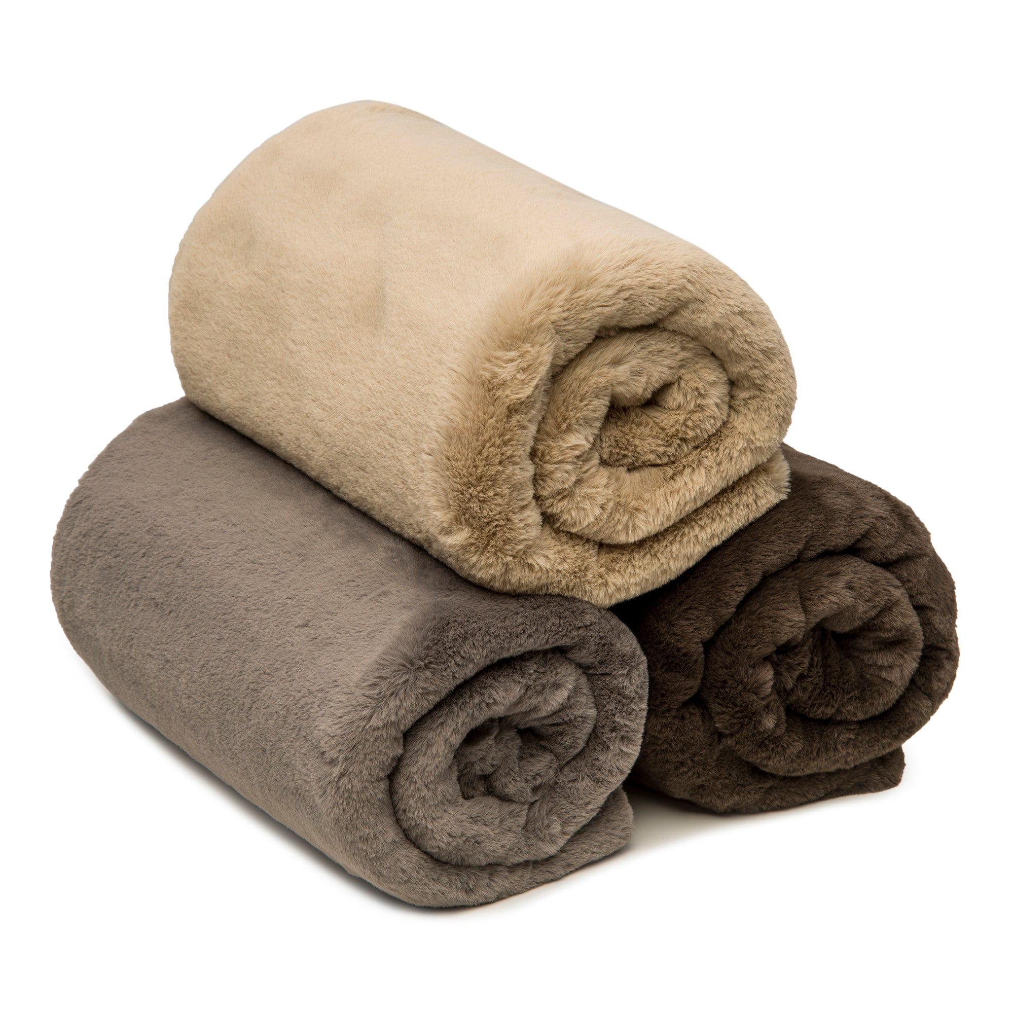 Dog Faux Mink Blanket - 2 Color Options
