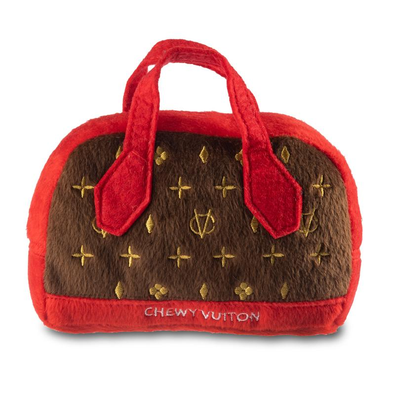 Chewy Vuitton Bag - Dog Toy - 2 Sizes