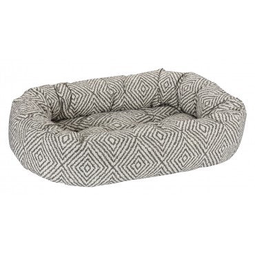 Diamondback Micro Jacquard Dog Bed - Donut Bed