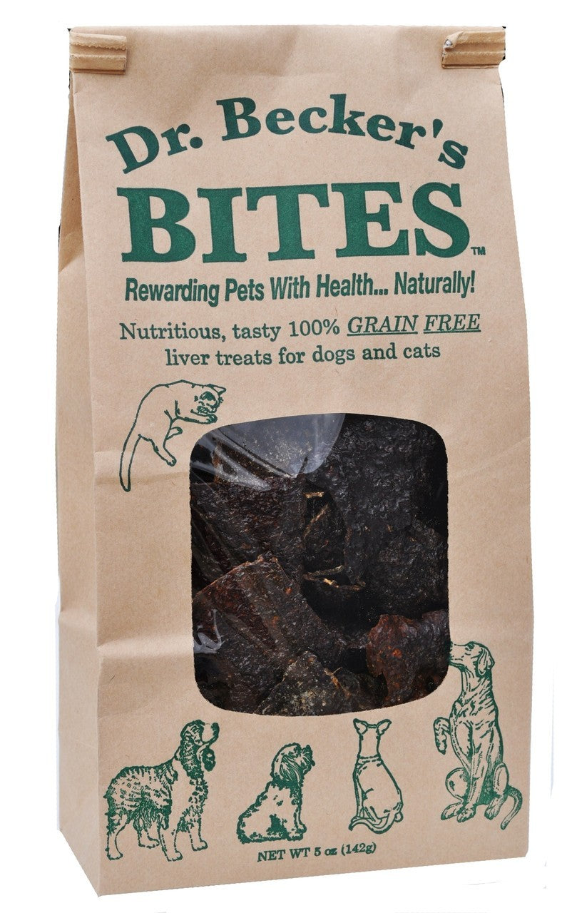 Dr Becker's - Original Beef Liver Bites - Dog Treat - USA