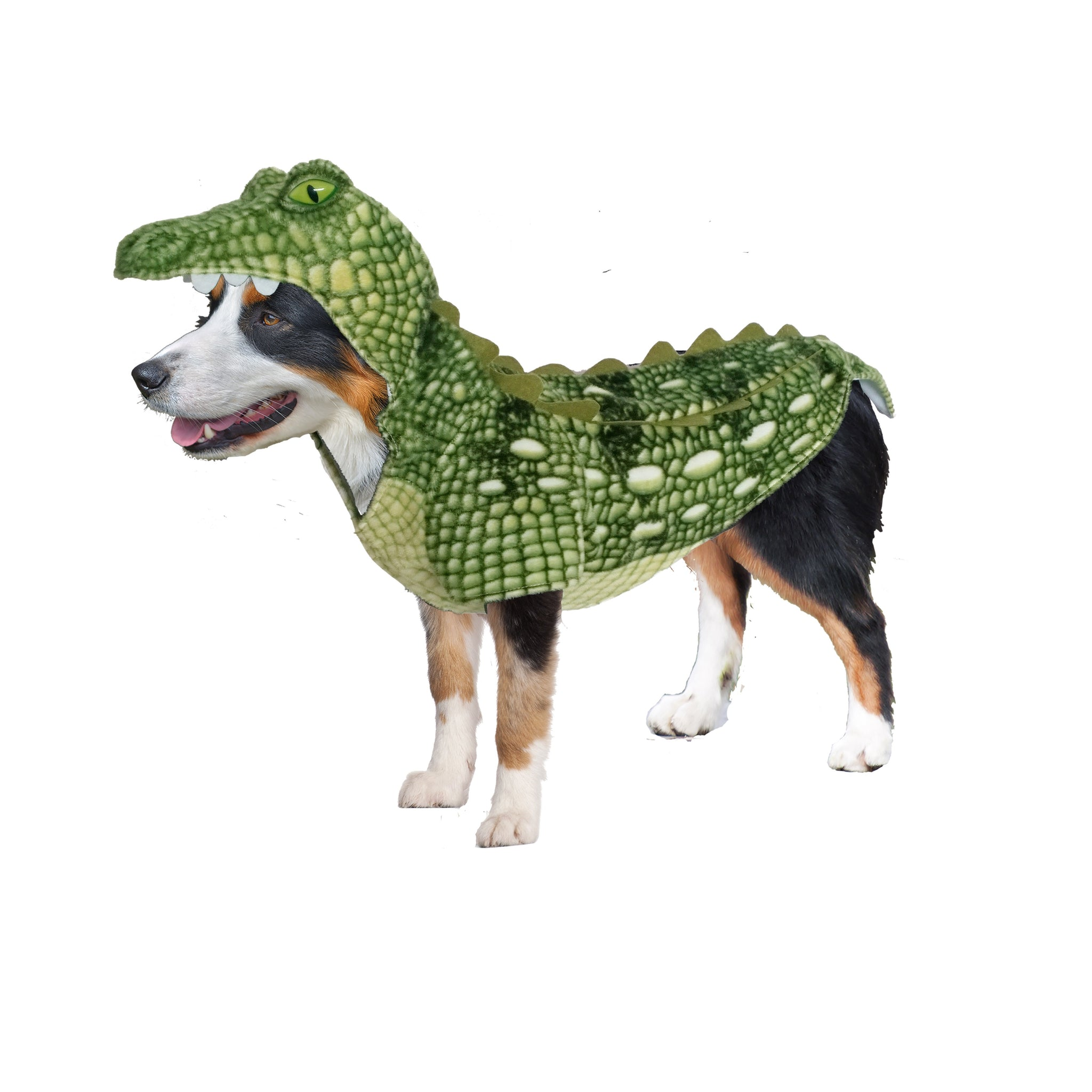 dog halloween costumes | swamp green crocodile costume – canine styles