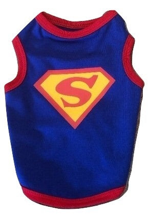 Dog Super Hero Shirt | Superman or Batman Halloween