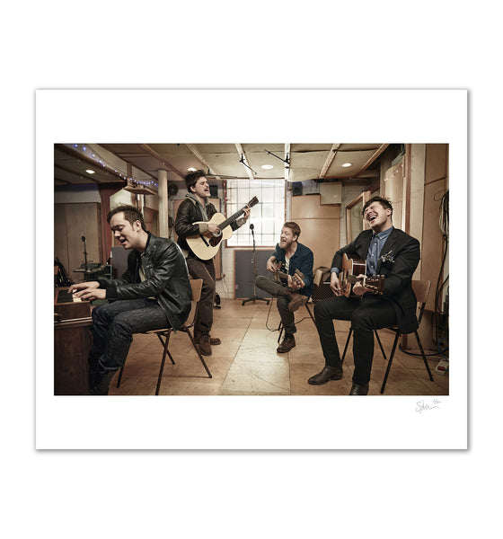 Mumford and Sons, London, 2013 Archival Pigment Print