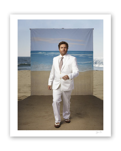 Zach Galifianakis, Los Angeles, 2010 Archival Pigment Print
