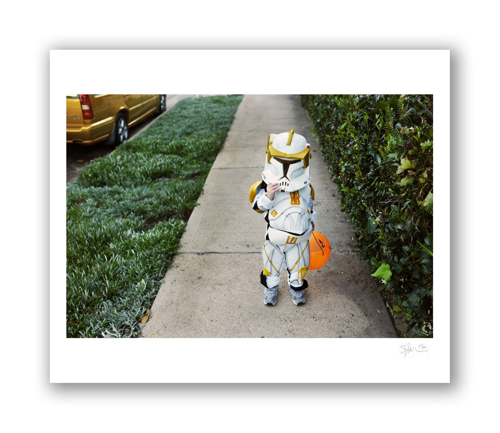 Stormtrooper and Volvo Archival Pigment Print
