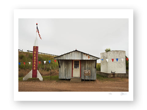 "Some Where Else ""Catfish for Sale, Grenada, Mississippi"" Archival Pigment Print"