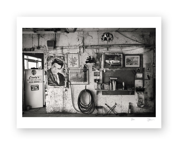"Some Where Else ""Cindy's Body Shop and Bail Bonds, Mississippi"" Archival Pigment Print"