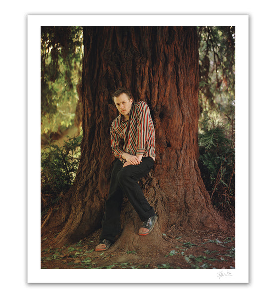 Heath Ledger with Tree, Los Angeles, CA, 2006 Archival Pigment Print