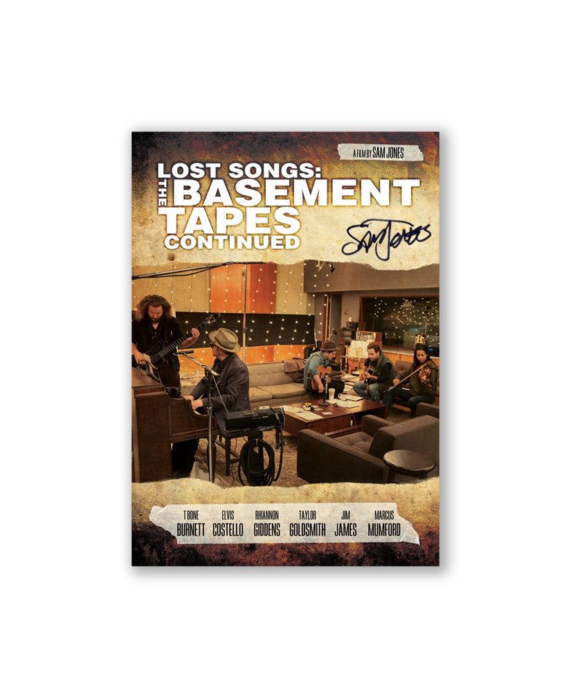 Lost Songs: The Basement Tapes Continued Signed DVD or Blu-ray