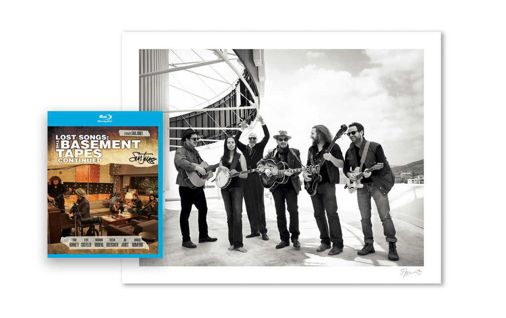 Lost Songs Deluxe Signed Archival Pigment Print / DVD or Blu-ray Package
