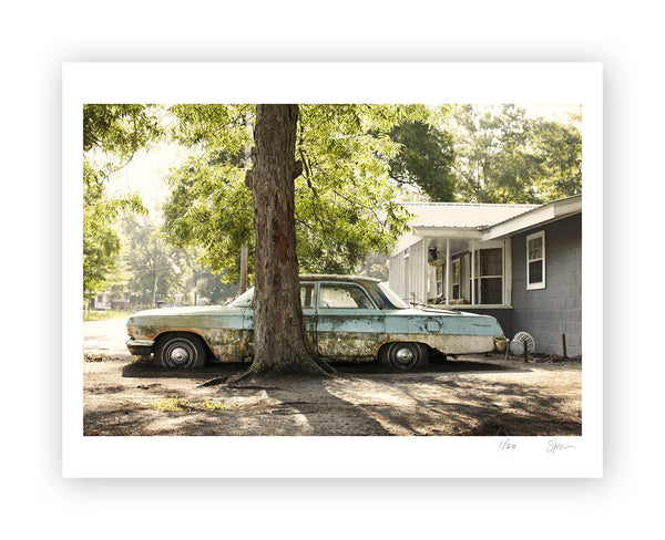 "Some Where Else ""Front Yard, Picayune, Mississippi"" Archival Pigment Print"