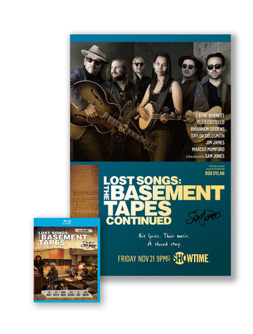 Lost Songs Limited Edition Signed Poster / DVD or Blu-ray Package